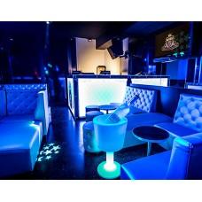 Portabottiglie - DRINK - Lampada/Portabottiglie diam.47 h.75 LIGHT BLUE att. I3 - Slide