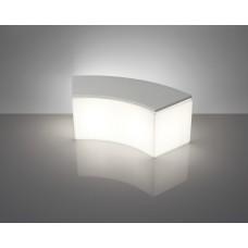 Sedie Modulari illuminate - Lampada SNAKE cm.53x123 h.43 Tav Base I3  LIGHT WHITE - Slide