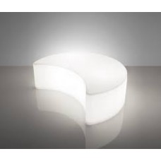 Sedie Modulari illuminate - Lampada MOON cm140x109 h43 Int.base I3 LIGHT WHITE