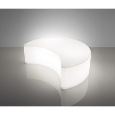 Sedie Modulari illuminate - Lampada MOON cm140x109 h43 Est.base E3 LIGHT WHITE