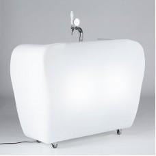 Bancone da Bar illuminato - SPILLATRICE per ROLLER BAR cm.23x11 h.53 - Slide