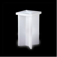 Tavoli illuminati - Tavolo X2 cm.60x60 h.110 LIME GREEN
