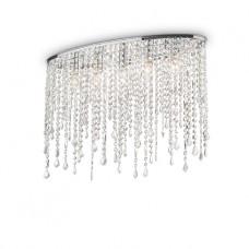 LAMPADA DA SOFFITTO 5 LUCI - RAIN_CLEAR_PL5