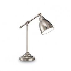 LAMPADA DA TAVOLO 1 LUCE - Ideallux - NEWTON_TL1_NICKEL