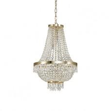 LAMPADA A SOSPENSIONE 9 LUCI - Ideallux - CAESAR_SP9_CROMO