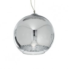 LAMPADA A SOSPENSIONE 1 LUCE - Ideallux - DISCOVERY_CROMO_SP1_D30