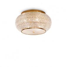 LAMPADA DA SOFFITTO 6 LUCI - PASHA_PL6_ORO
