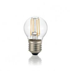 LAMPADINA LED - Ideallux - LAMPADINA_CLASSIC_E27_4W_SFERA_TRASPARENTE_3000K