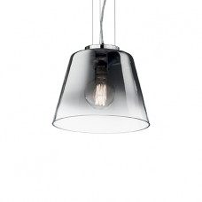 LAMPADA A SOSPENSIONE 1 LUCE - Ideallux - CYLINDER_SP1_D30_CROMO_SFUMATO