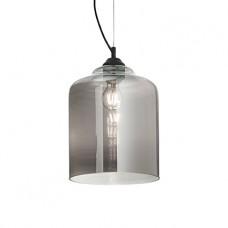 LAMPADA A SOSPENSIONE 1 LUCE - Ideallux - BISTRO_SP1_SQUARE_TRASPARENTE