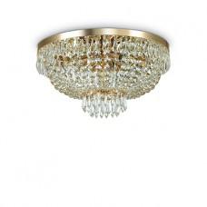 LAMPADA DA SOFFITTO 6 LUCI - CAESAR_PL6_ORO