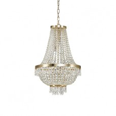 LAMPADA A SOSPENSIONE 9 LUCI - Ideallux - CAESAR_SP9_ORO