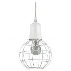 LAMPADA A SOSPENSIONE 1 LUCE - Ideallux - CAGE_SP1_ROUND