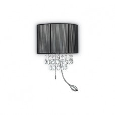 LAMPADA DA PARETE 3 LUCI - Ideallux - OPERA_AP3_NERO