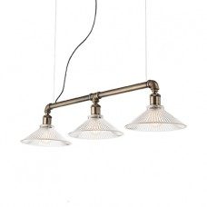 LAMPADA A SOSPENSIONE 3 LUCI - ASTRID_SP3_NERO