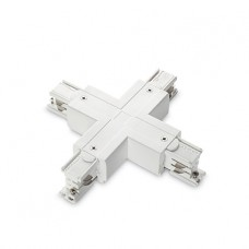 ACCESSORI - Ideallux - LINK_TRIMLESS_X-CONNECTOR_WHITE