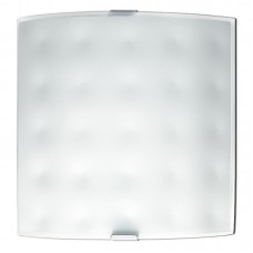 - APPLIQUE BULLONATA 26X26 BIANCA 1XE27 - Fan Europe