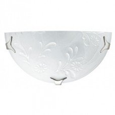 - APPLIQUE FIORE MISTO 30X15 ALABASTRO BIANCO 1XE27 - Fan Europe