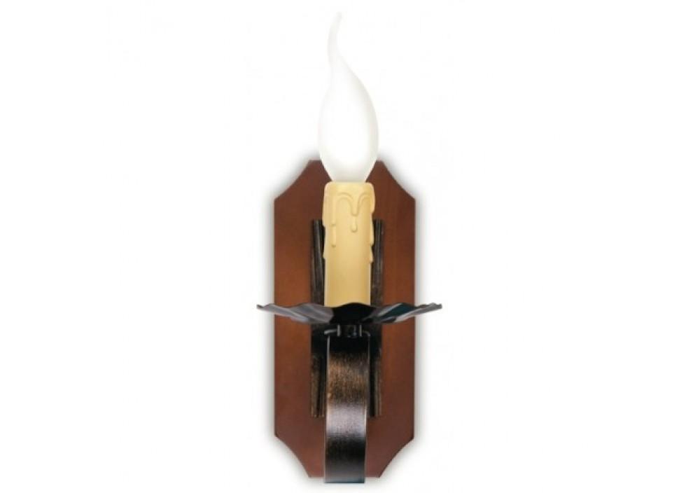 Applique rustico legno 1xe14 48.4 euro