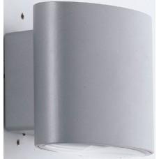 - APPLIQUE BOXTER LED SILVER 2X4W 700LM 4000K IP44 - INTEC