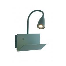 APPLIQUE GULP VERDE USB 1XGU10 23X49X27CM - Fan Europe - I-GULP-AP VER