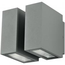 - APPLIQUE BETA LED SILVER 4X3W 1000LM 3000K IP54 - INTEC