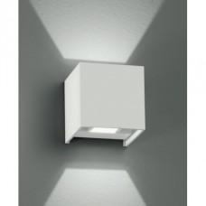 - APPLIQUE ALFA LED BIANCO 2X2W 360LM 3000K IP54 - INTEC