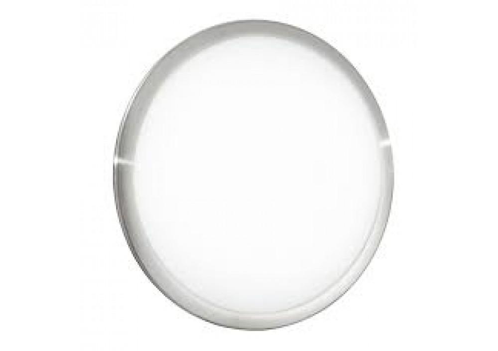 Plafoniere Con Sensore : Plafoniera led divina d bianca cornice nikel con sensore k