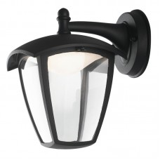 - APPLIQUE LADY LED NERA VERSO IL BASSO 12W 800LM 4000K IP44