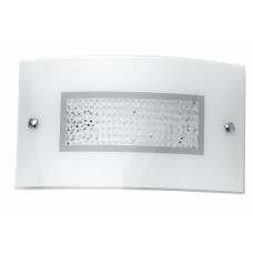 - APPLIQUE LED TRILOGY 35X20 BIANCA CRISTALLI K9 4000K 1280LM 16W