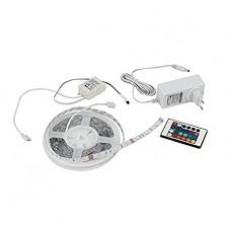 - STRIP LED 3MT RGB 18W 12V 90LED 5050 CON TELECOMANDO E DRIVER INCLUSI - INTEC