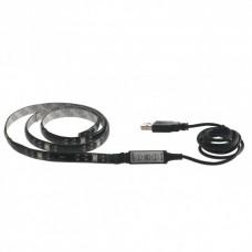 - STRISCIA SURROUND LED NERA COMANDO DIGITALE CONNESSIONE USB 80CM 3,5W RGB - INTEC