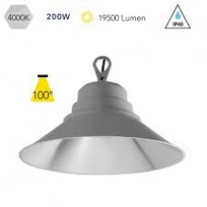 - LAMPADA HIGH-BAY FUTURA LED SILVER 200W 19500LM 4000K 100° IP65