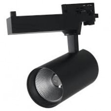 - PROIETTORE BINARIO TRIFASE EAGLE LED NERO 40W 4000LM 3000K - INTEC