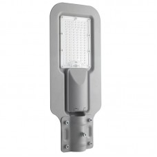 - TESTA PALO STRADALE VISION LED SILVER 20W 2000LM 4000K 150X90° IP65 - INTEC