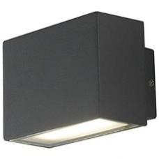 - APPLIQUE AGERA LED NERO 2X8W 550LM 4000K IP54 - INTEC