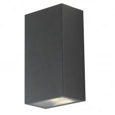 - APPLIQUE DEZIR LED ANTRACITE 2X6W 630LM 4000K IP54 - INTEC