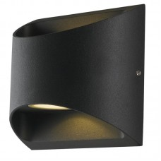 - APPLIQUE VEYRON LED NERO 2X7W 680LM 4000K IP54