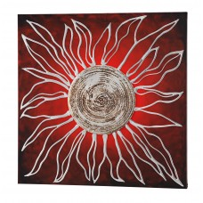 Pintdecor Noi Creiamo - Quadro SOLE ROSSO - P2874